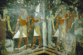 Tomb in Valley of Kings