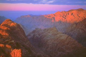 Mount Sinai in the morning